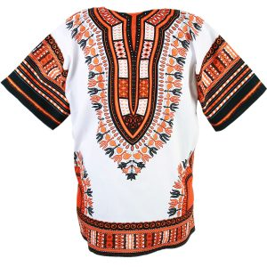 African-Dashiki-Mexican-Shirt-Addis-Abeba-t-shirt en wax - Tshirt en Dashiki